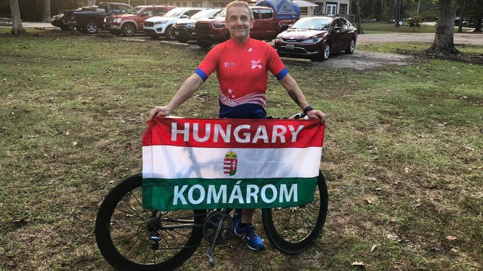 Szőnyi Ferenc tízszeres ironman bajnok
