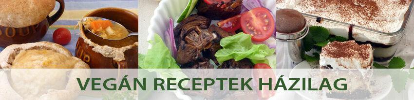 vegán receptek házilag
