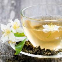 Jázminos zöld tea, szálas, 200g