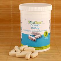 C-vitamin 1000mg nyújtott felszívódású, csipkebogyóval és citrus bioflavonoidokkal, 90 db tabletta