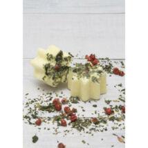 Fürdőpraliné MentaLia citrom-babérlevél, vegán, natúrkozmetikum 17g