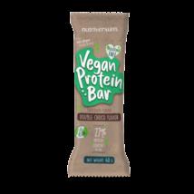 Vegán Protein (fehérje) szelet 48g, dupla csokoládé (Nutriversum)