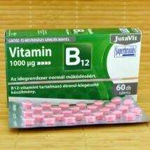 B12 vitamin tabletta, 1000mcg, 60db (Jutavit)