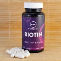 Biotin kapszula, 5000mcg, 60db (MRM)