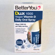 D3 vitamin spray, 1000IU, 100 adag, vegán, (Better You)