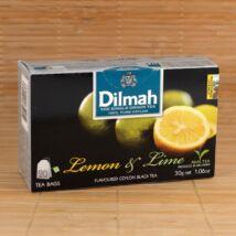 Dilmah fekete tea citrom&lime ízesítéssel, 20db 1,5g-os filter