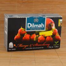 Dilmah fekete tea mangó&eper ízesítéssel, 20db 1,5g-os filter