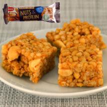 Emco földimogyoró és protein (fehérje) szelet mogyoróvajjal (gluténmentes), 40g