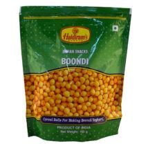 Haldiram's Boondi, fűszeres indiai snack / levesgyöngy 150g