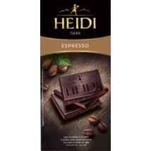 Kávés étcsokoládé Heidi Dark Espresso 80g