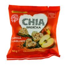 Little hearts müzli szívek almával és chia maggal 50g