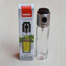 Olaj / ecet spray 95ml, üveg / rozsdamentes acél
