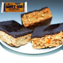 Óriás-Zabszelet narancsdarabokkal, csokoládés bevonattal 100g