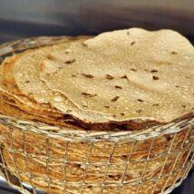 Papadam (ropogós indiai kenyérféleség, gluténmentes), köményes, 200g