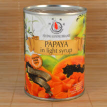 Papaya light szirupban 565g
