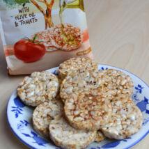 Rice Snacks puffasztott rizs, paradicsom + olivaolaj 50g