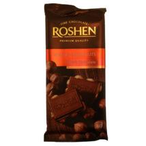 Roshen egészmogyorós étcsokoládé 90g