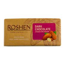 Roshen étcsokoládé sós mandulával 90g