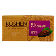 Roshen 80%-os étcsokoládé 90g