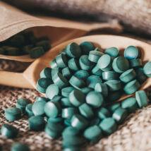 Spirulina tabletta 100g - bulkshop