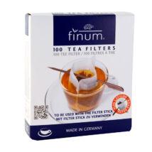 Teafilter papír csészéhez (pálcikás), 10x7,5cm, 100db