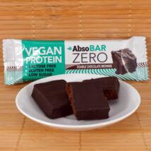 Absorice Zero vegán protein (fehérje) szelet - dupla csokis brownie - 40g