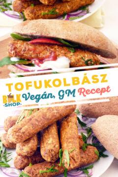 tofukolbász recept bulkshop vegán gluténmentes