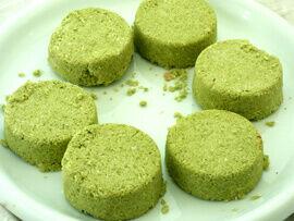 matcha teás kókuszkocka recept bulkshop vegán plantbased növényi alapú