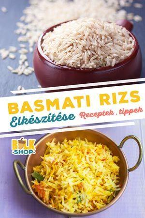 basmati rizs elkészítése