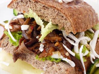 banánhéj burger bulkshop vegán plantbased növényi alapú