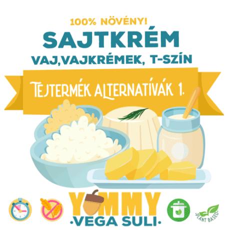 Tejtermék Alternatívák 1. / 3 órás főzőtanfolyam yummysuli