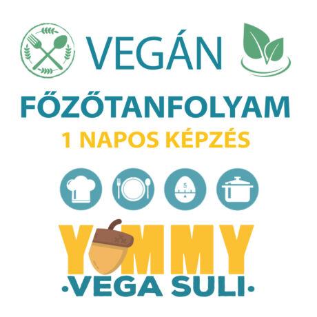 Vegán főzőtanfolyam gluténkerülőknek - 2021. október 23. szombat
