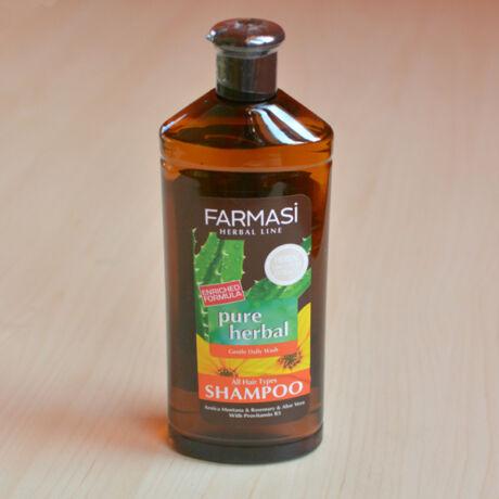 Gyógynövény sampon minden hajtípusra 700ml, (árnika, rozmaring, aloe vera, B5 provitamin)