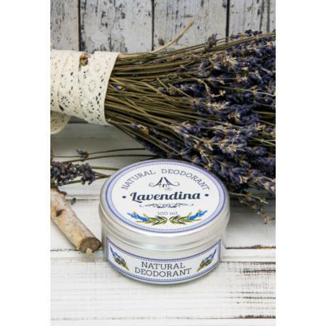 Dezodor Lavendina, levendula illat, 35 ml, vegán, 100% natur bulkshop