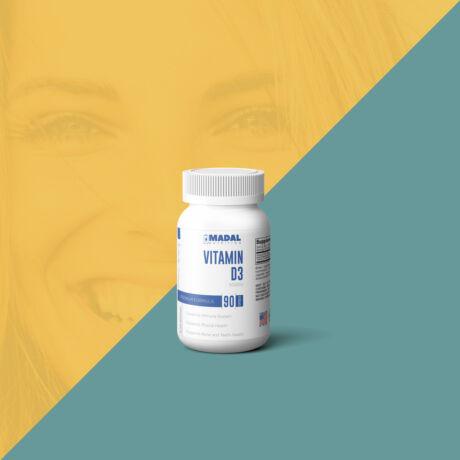 D3 vitamin 5000 NE tabletta, 90db