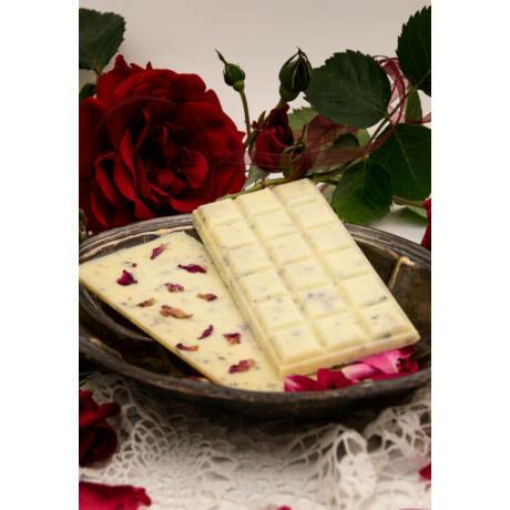 Fürdőcsoda kádfürdőhöz, RosaLinda, rózsa illat, vegán, 100g bulkshop