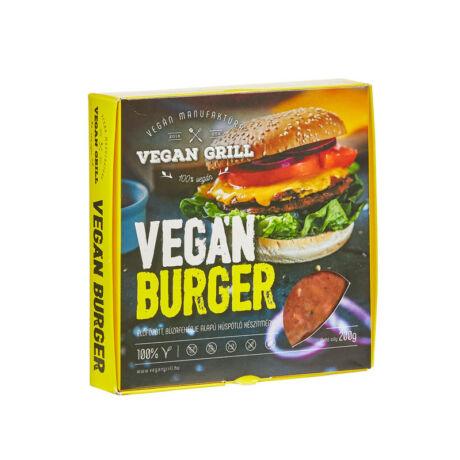 Vegán Manufaktúra grill vegán burger 200g bulkshop
