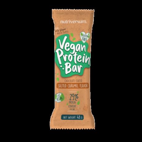 Vegan Protein Bar 48g, sós karamell (Nutriversum) - Bulkshop