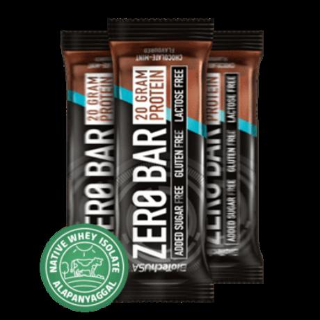 Zero Bar fehérje szelet 50g - csokoládé-karamell