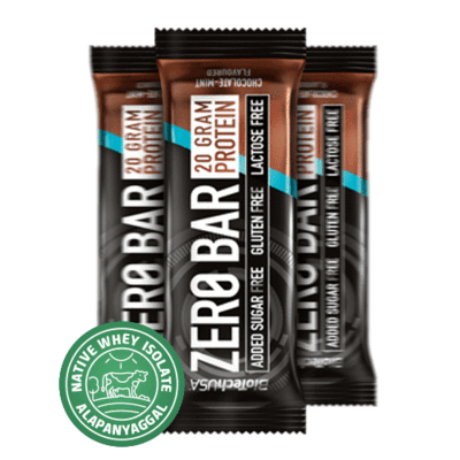 Zero Bar fehérje szelet 50g - dupla csokoládé