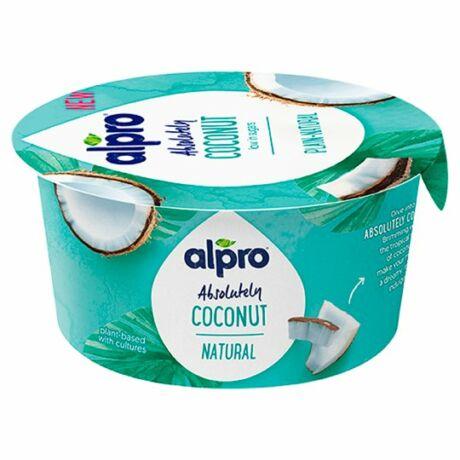 Alpro kókuszgurt 120g, natúr - Bulkshop