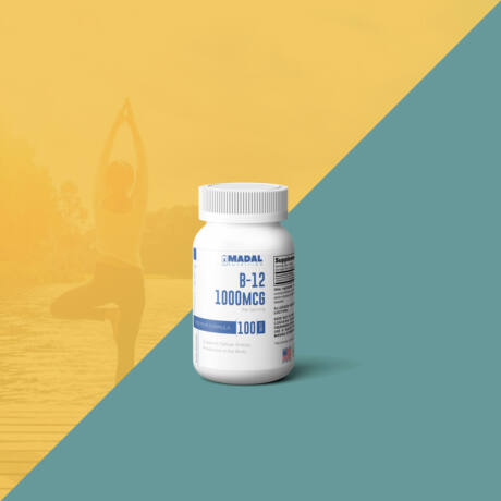 B12 vitamin rágótabletta 1000μg, 100db