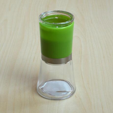 Borsörlő üveg tartóval (többféle színben)