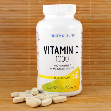 C-1000 vitamin tabletta (Nutriversum) 100db