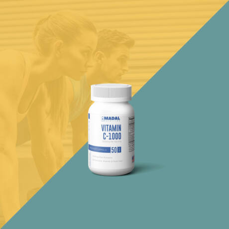 C-1000 vitamin + 645mg növényi kivonat, 50db