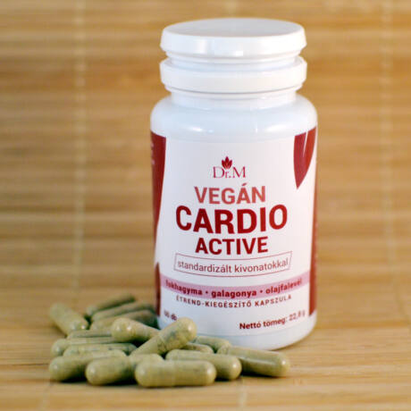Cardio Active 60db kapszula, Dr.M bulkshop