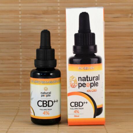 CBD olaj 4% 30ml - Natural People