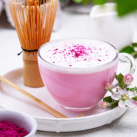 Céklás latte ceyloni fahéjjal bulkshop