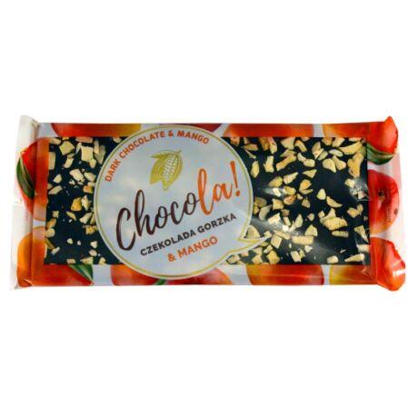 Chocola étcsokoládé mangó darabokkal, 92g