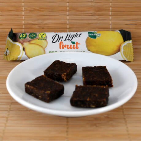 Dr. Light gyümölcsszelet citrommal, gyömbérrel, pre- és probiotikummal, vitaminokkal 30g